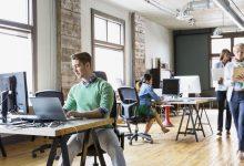 Párásítás nagy irodákban, munkahelyeken