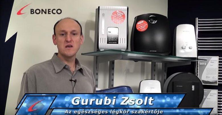 Gurubi Zsolt az egészséges levegő szakértője a Bonair-nél